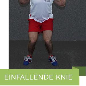 Einfallende Knie